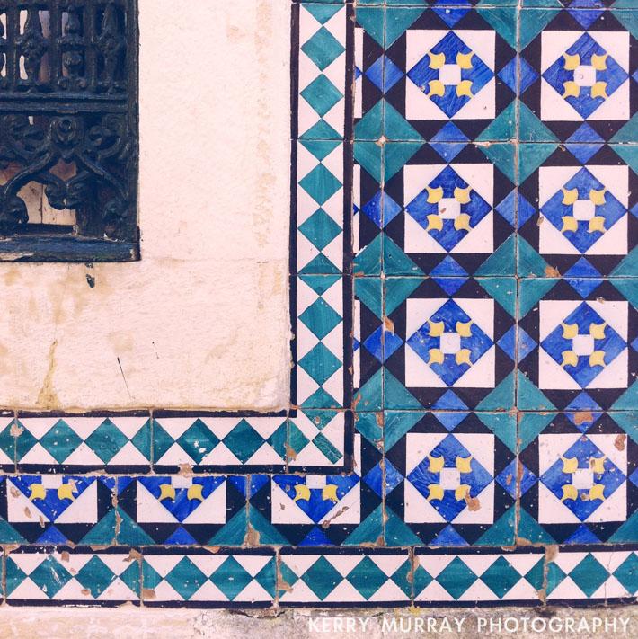 Azulejos Lisbon Portugal