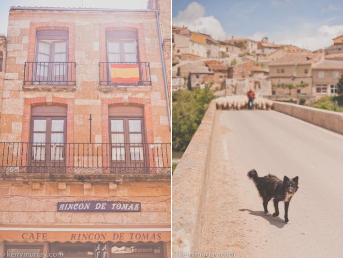 Palenzuela Spain, Travelling in Spain