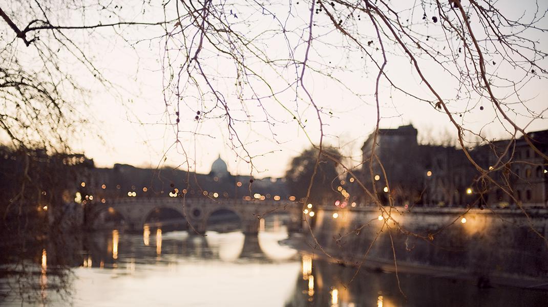 Tiber River Rome Italy