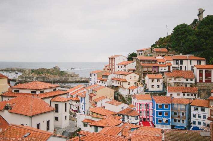 travel photography Cudillero Asturias Spain