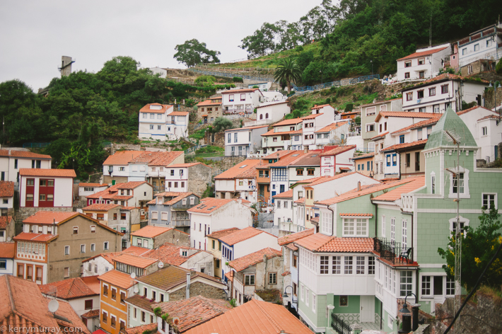 travel photography Cudillero Asturias Spain
