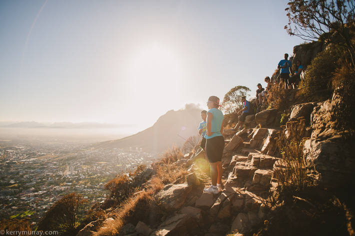 Hiking Lions Head Cape Town South Africa