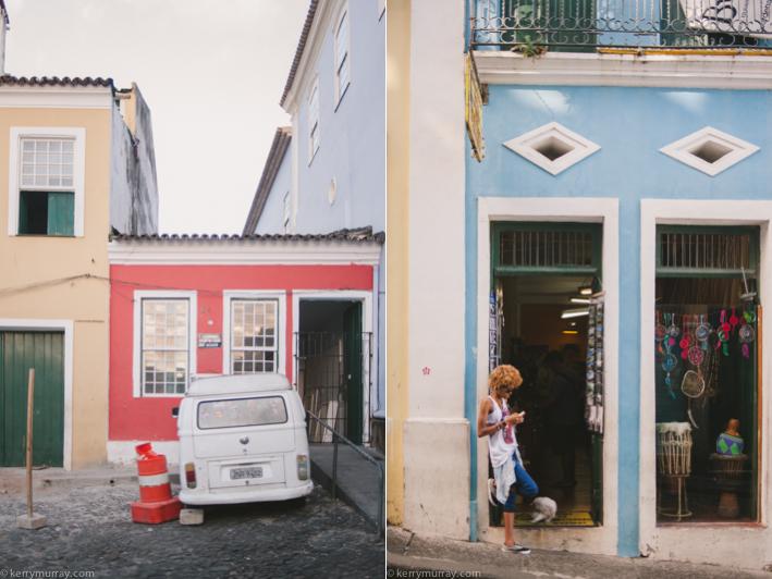 Travel photography Salvador da Bahia Brazil