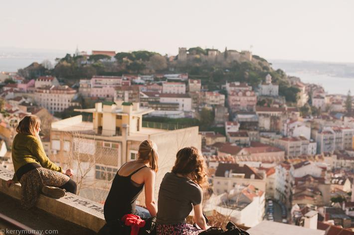 Alfama Lisbon Portugal