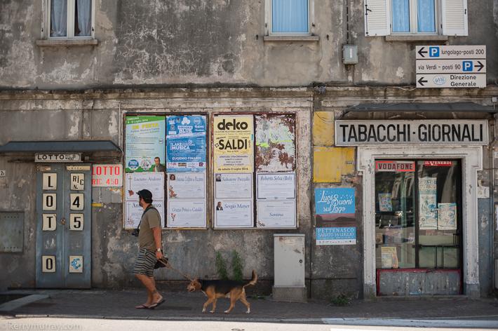 Travel photographer Italy