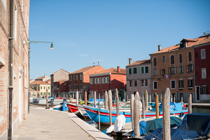 Travel photography Murano Burano Italy